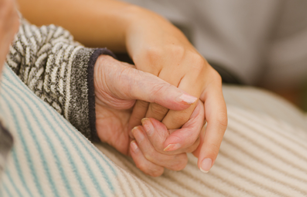 Dignity in Care hands
